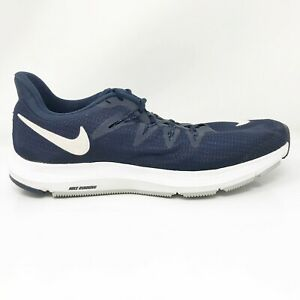 Nike-Mens-Quest-AA7403-400-Navy-Blue-Running-Shoes-Lace-Up-Low-Top-Size-7-5