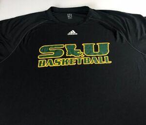 SLU-Shirt-Mens-2XL-Southeastern-Louisiana-Lions-Adidas-ClimaLite-Basketball-Grad