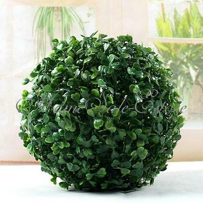 4pc Party Home Foliage Green Grass Ball Decoration Lantern Pom Poms Garden Decor