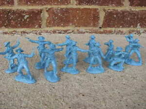 Paragon-US-CAVALRY-SOLDIERS-SET-1-Light-Blue-Custer-Toy-Western