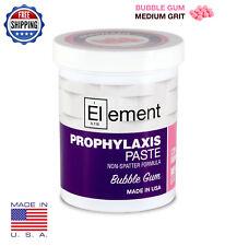 Element Medium Grit Bubble Gum Prophy Paste Dental Prophylaxis 340g 12oz Jar