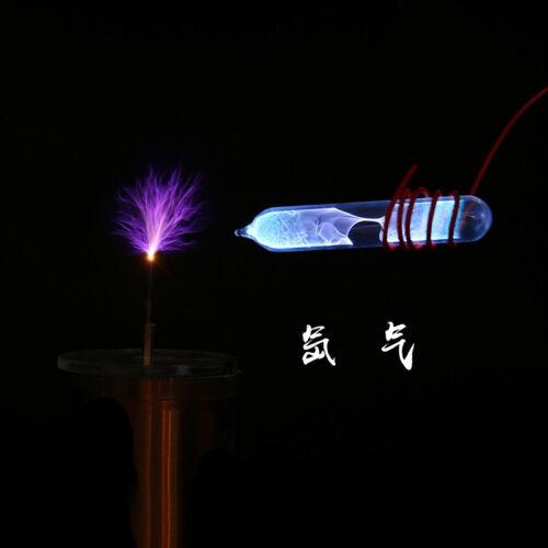N2 H2 Oxygen Complete Set 8 Gases in Ampoules Helium Neon Argon Xenon Krypton