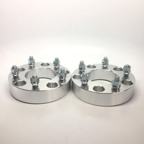 2X HUBCENTRIC WHEEL SPACERS ADAPTERS ¦ 5X135 ¦14X2.0 ¦ 87MM CB ¦ 2 INCH THICK