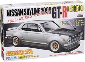 Fujimi-1-24-Nissan-Skyline-2000-GT-R-Kpgc10-Full-Works-Version-Model-Kit-JAPAN