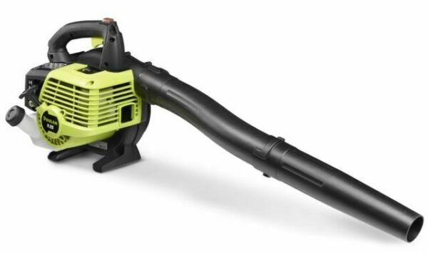Blue 375 CFM 195 mph,Hand Held Unit That Makes Leaf Sand Snow and Trash Cleanup A Breeze WHKL 2-Stroke Hand Held Leaf Blower 26cc Gas Engine