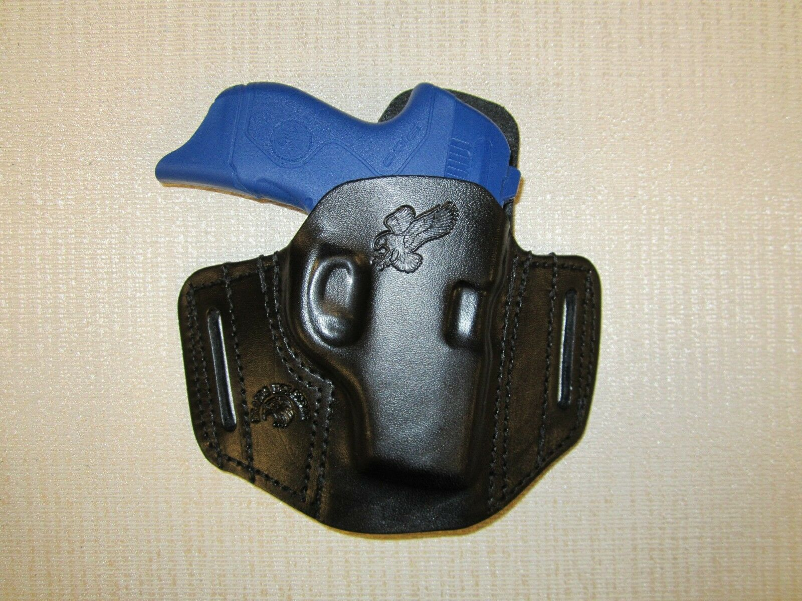 BERETTA PICO, FORMED LEATHER PANCAKE HOLSTER, OWB BELT HOLSTER, RIGHT HAND