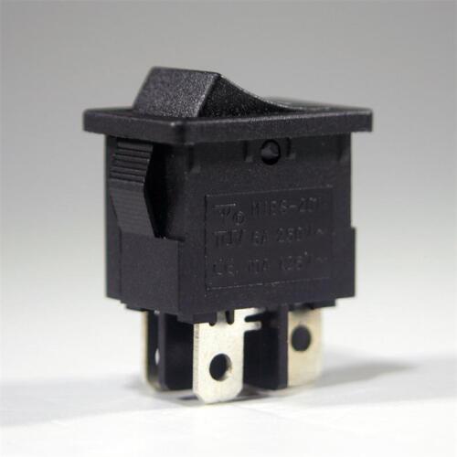 10 x wippenschalter on//off 250v//3a interruptor interruptor schaltend 2 pines max