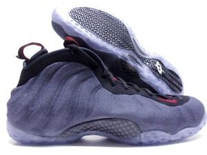 on sale 510c8 430ff NIKE AIR FOAMPOSITE ONE DENIM OBSIDIAN/BLACK-RED SIZE MEN'S ...