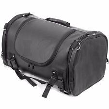Motorcycle Rex Leather Explorer, Saddle, Luggage Bag Tour Tail Motorbike Bags