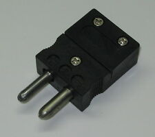 Standard J Type Connector Plug Male For J Type Thermocouple Wire Sensor Probe