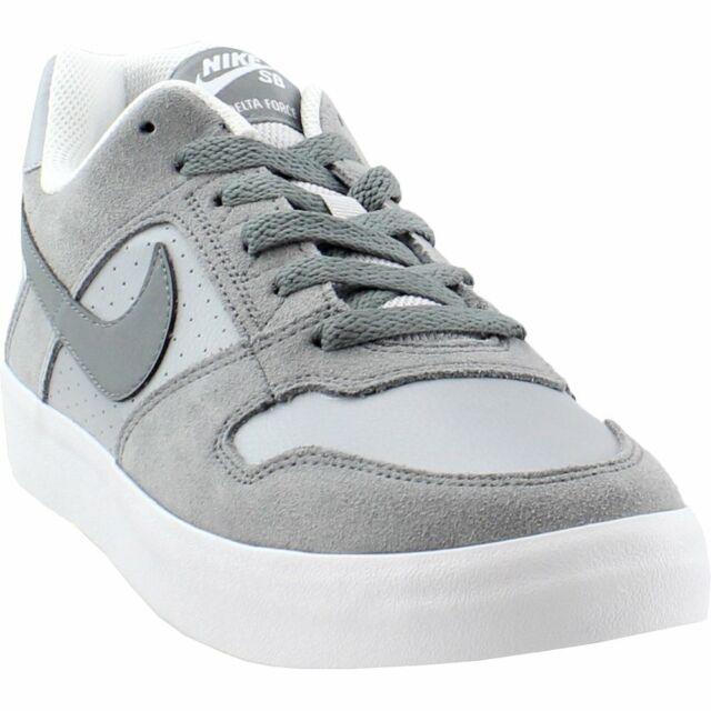 Nike SB Delta Force Vulc - Grey - Mens