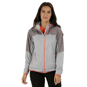 Regatta-Shyann-IV-Womens-Hooded-Wind-Resistant-Softshell-Jacket-Grey-RRP-80