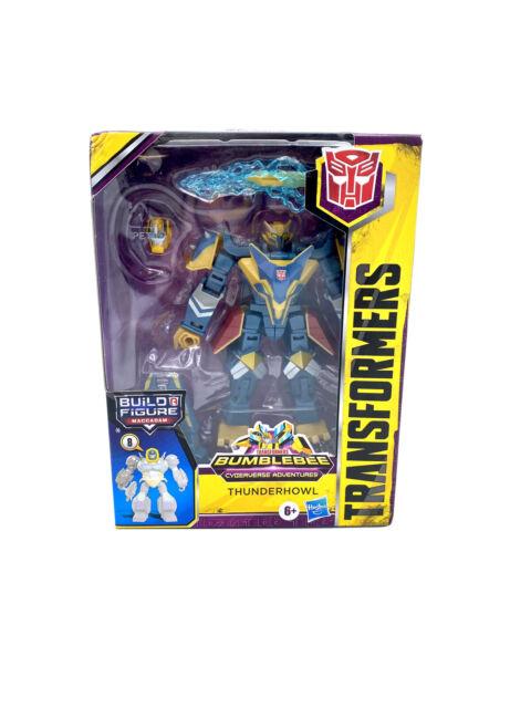 Transformers THUNDERHOWL Bumblebee Cyberverse Maccadam Build A Figure BAF Deluxe