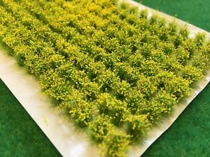 Rapeseed-Crops-Model-Scenery-Static-Grass-Tufts-N-Gauge-Railway-Rape-Oilseed