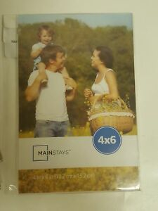 Mainstays 4 X 6 Clear Magnetic Frame Set Of 12 Gift Christmas N Ebay