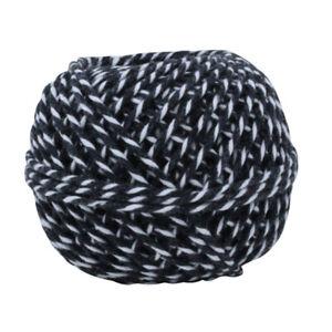 Black-amp-White-Cotton-Craft-Ball-Twine-String-100g-Approx-50m