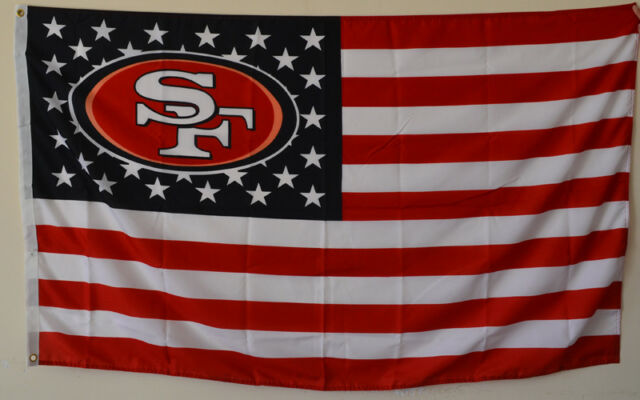 NFL San Francisco 49ers Banner Flag 3-Foot by 5-Foot