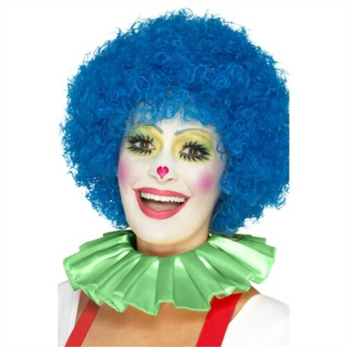 CLOWN collo con arricciatura-Adulti Costume Circo Costume Accessorio Bretelle Da Uomo Donna