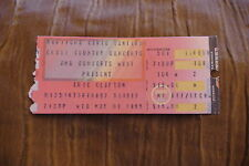 TICKET ERIC CLAPTON  1985  UK