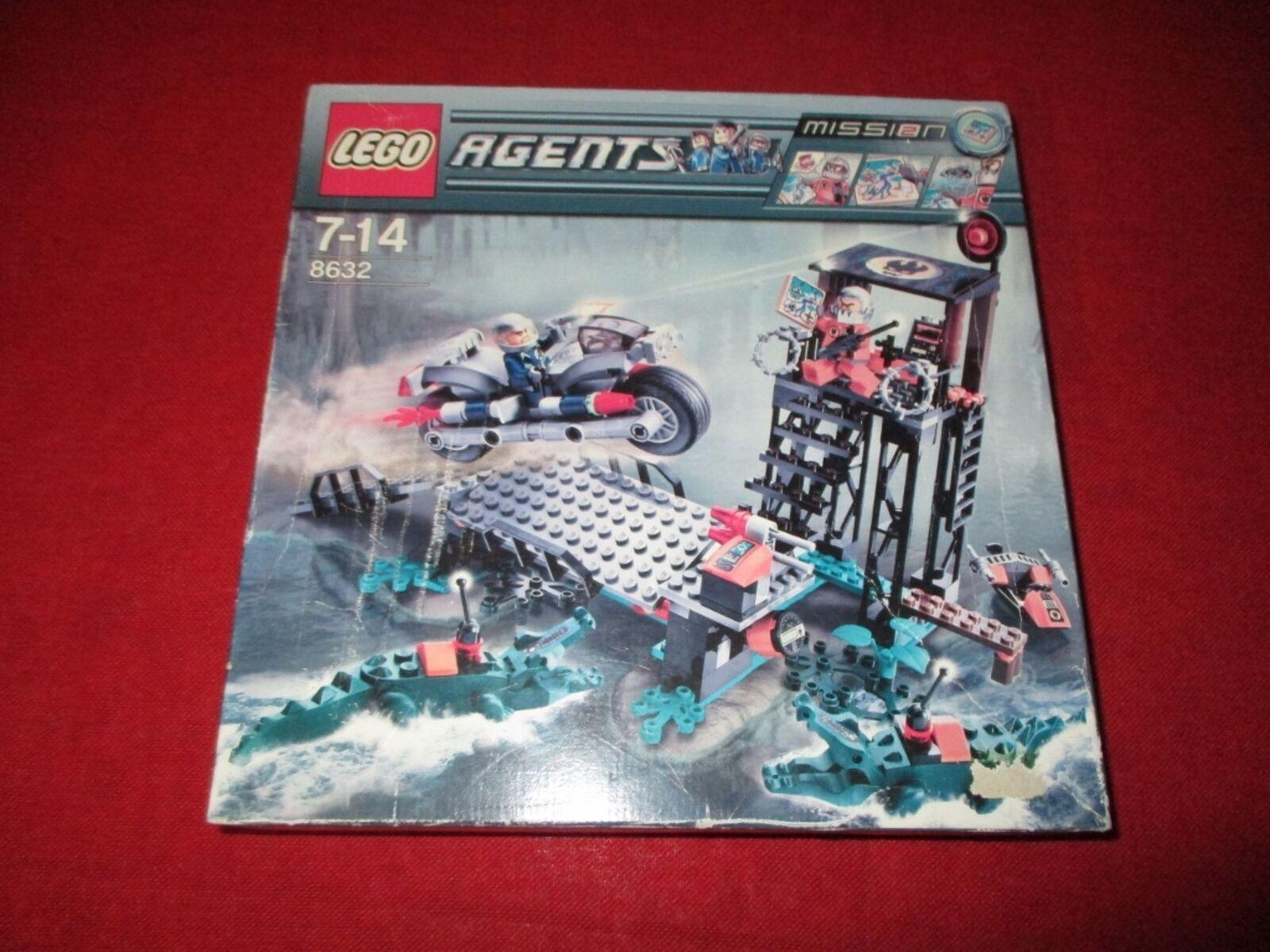 LEGO® AGENTS 8632 Mission 2 - Jagd im Sumpf NEU NEU NEU OVP ac25fe