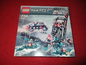 LEGO-agents-8632-Mission-2-Caccia-in-palude-NUOVO-OVP