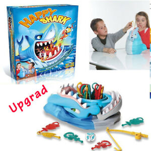 Upgraded Shark Bite Board Game Happy Shark Trap Interactive Desktop Party Toys