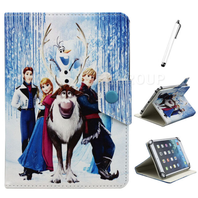 """Universal Lovely Family PU Leather Stand Cover Case For 7"""" 9.7"""" 10"""" 10.1"""" Tablet"""