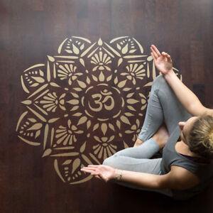 Craftstar OM Mandala Stencil-Réutilisable À faire soi-même Médaillon Motif Modèle