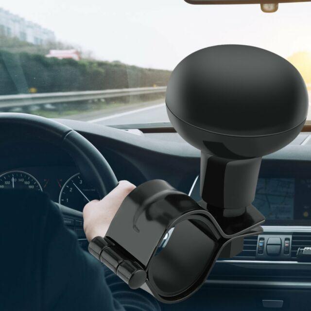 Black Steering Wheel Spinner Handle  Auto Heavy Duty Suicide Knob Car Wonderful