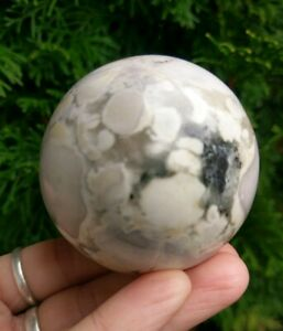 57mm-KING-COBRA-JASPER-Sphere-Conglomerate-Crystal-Stone-Reiki-Charged-9-8oz