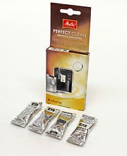 MELITTA Perfect Clean Espresso Filter Coffee Machine Descaler 4 X Tablets