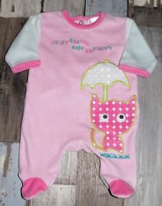 Pyjama-en-velours-rose-KIABI-fille-1-mois-54cm-AUD44