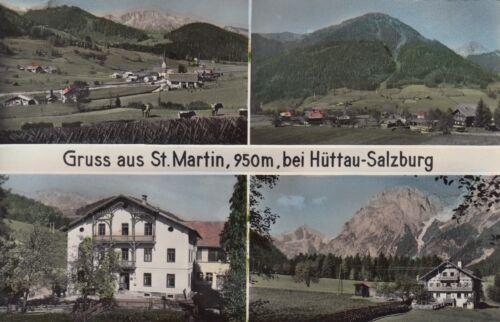 Postkarte - Gruss aus St. Martin bei Hüttau-Salzburg