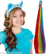 MY LITTLE PONY RAINBOW DASH EARS & TAIL SET Blue Headband Costume Accessory Kit