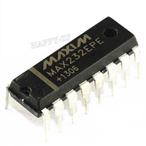 20Pcs MAX232EPE MAX232 2Dvr 2Rcvr RS232 5V Code De Date De 16 Immersions ta