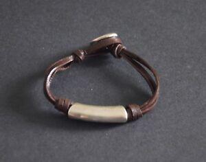 Pulsera de cuero,hecha a mano,uno diferente de 50,pulsera de vidrios,multicapa