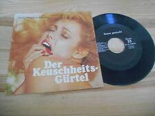 "7"" Hör Keuschheitsgürtel / Sauna gemischt (2 Song) CARL STEPHENSON VLG very good"