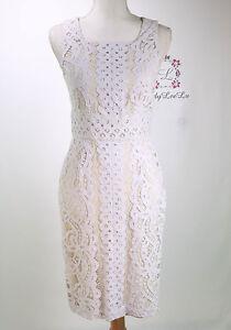 Antonio Melani New Krista Lace Sleeveless Sheath Dress Size 4 8 Nwt