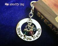 Personalised Bookmark & ANY NAME + Crystal Birthstones gift Grandpa Mother Mum