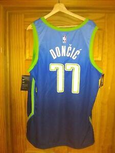 Federal explotar Profecía  Nike Dallas Mavericks #77 Luka Doncic City Edition Swingman XXL Jersey  Graffiti   eBay