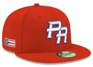 722491ff3 Details about Official 2017 WBC Puerto Rico World Baseball Classic New Era  59FIFTY Fitted Hat