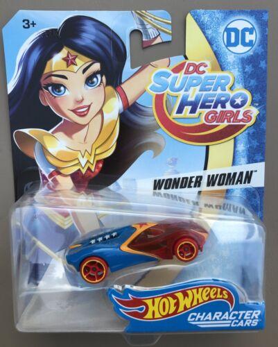 Lot of 3 Hot Wheels DC SUPER HERO GIRLS WONDER WOMAN BATGIRL~SUPERGIRL Cars