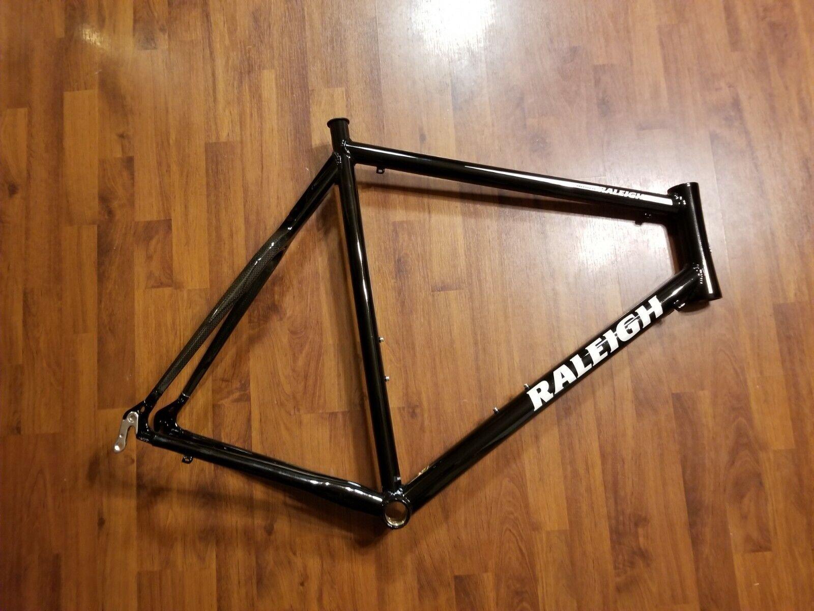 Raleigh Raleigh Raleigh Prestige EX Road Bike Frame - 700c Aluminum 62cm Carbon Upper Chainstay 67f2c3