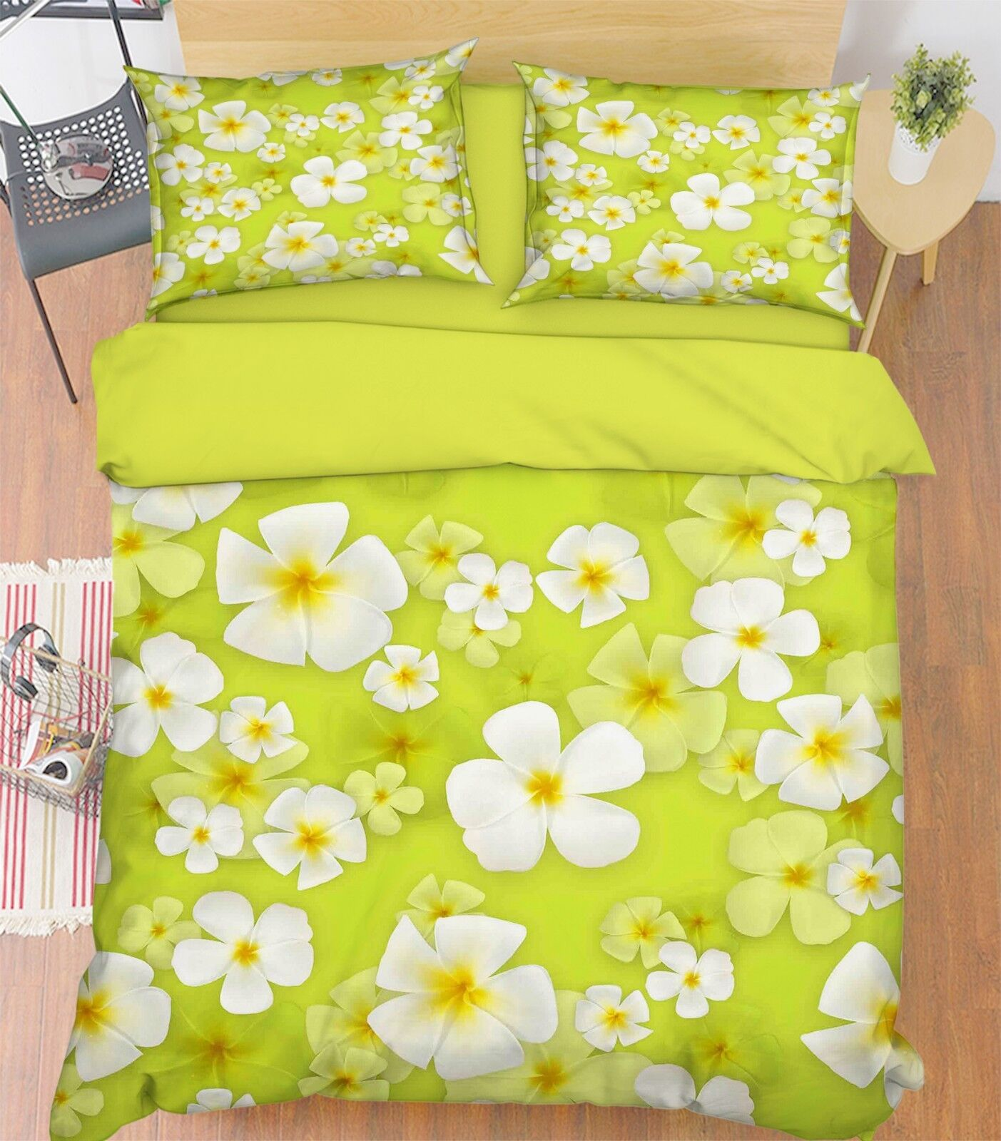 3D Fresh Flowers 577 Bed Pillowcases Quilt Duvet Cover Set Single King UK Summer