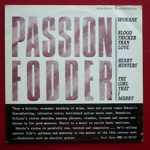 PASSION FODDER  Spokane 1988 Limited Edition of 3000 4 trk 12034 in PS - <span itemprop='availableAtOrFrom'>Eastleigh, United Kingdom</span> - PASSION FODDER  Spokane 1988 Limited Edition of 3000 4 trk 12034 in PS - Eastleigh, United Kingdom