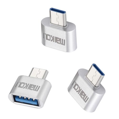 3x USB 3.0 to USB C Type-C Adapter OTG Connector for Laptop Tablets PC