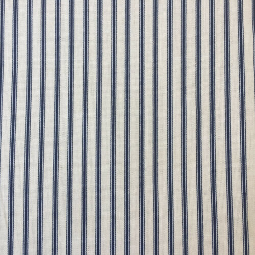 CANVAS Ticking Stripe100/% cotton  fabric  112cm wide sold per 1//2 metre