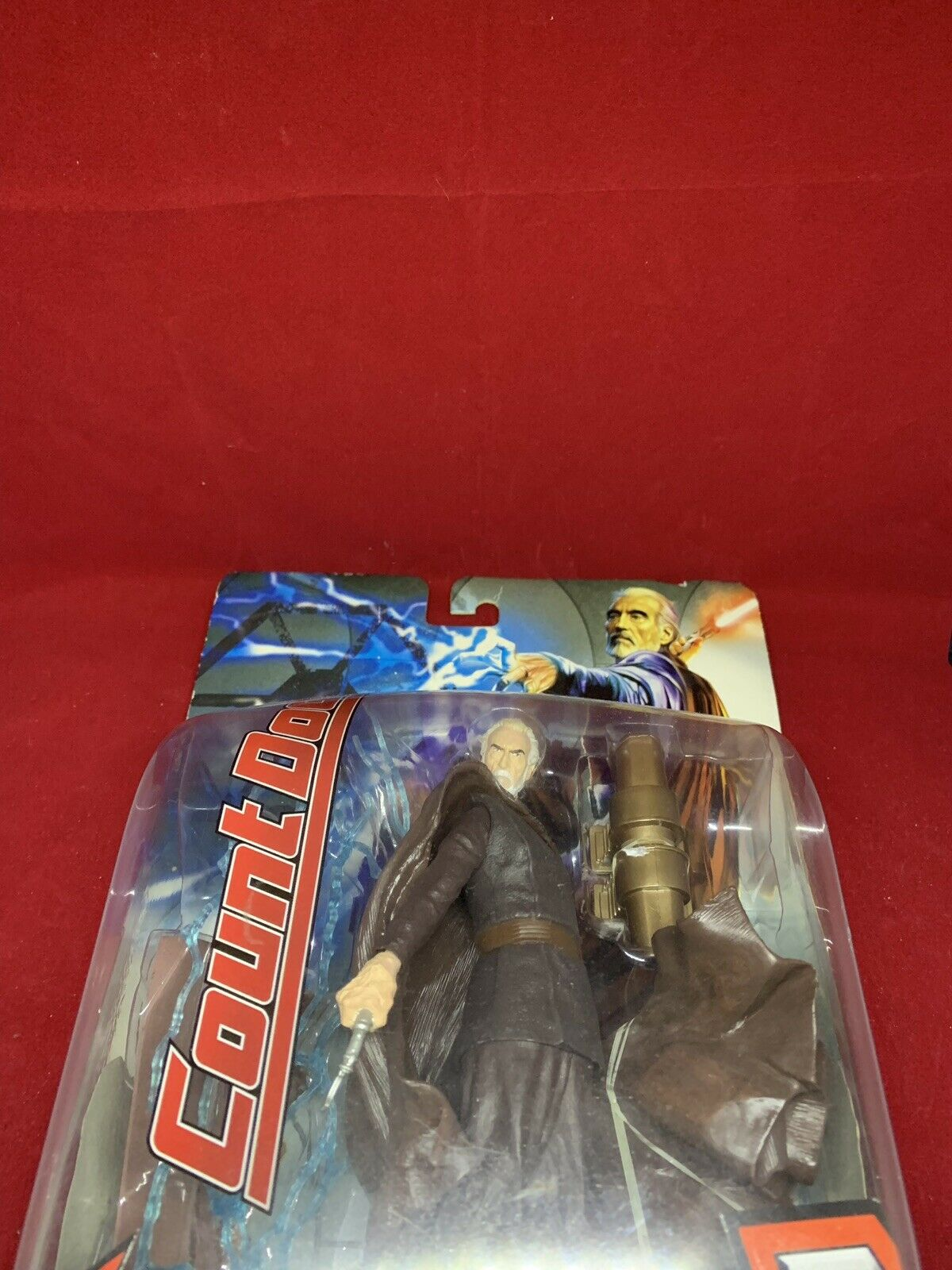 Star Wars Unleashed MIP COUNT DOOKU Darth Darth Darth Tyrannus redS Revenge of the Sith 025d92