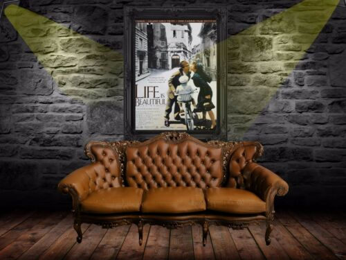 Life is Beautiful 1997  Retro  Movie Poster A0-A1-A2-A3-A4-A5-A6-MAXI 646