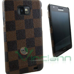 Custodia-back-cover-CHESS-per-Samsung-Galaxy-S2-SII-i9100-rigida-elegante-brown